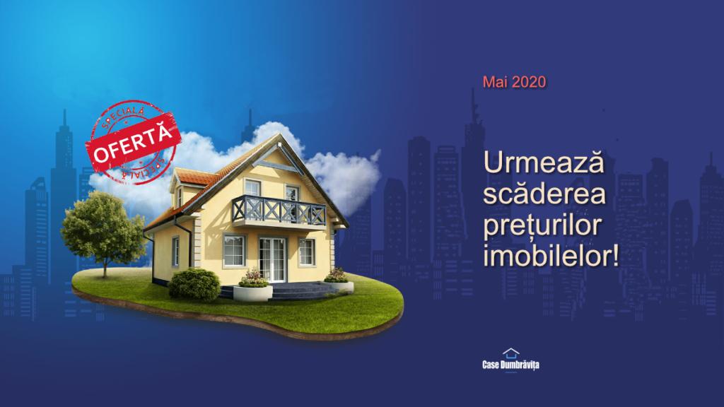 Criza imobiliare 2020. Scăderea prețurilor.